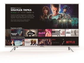Smart Tv Led 55 Polegadas Semp Toshiba Tcl K1 Ultra Hd 4k Hd