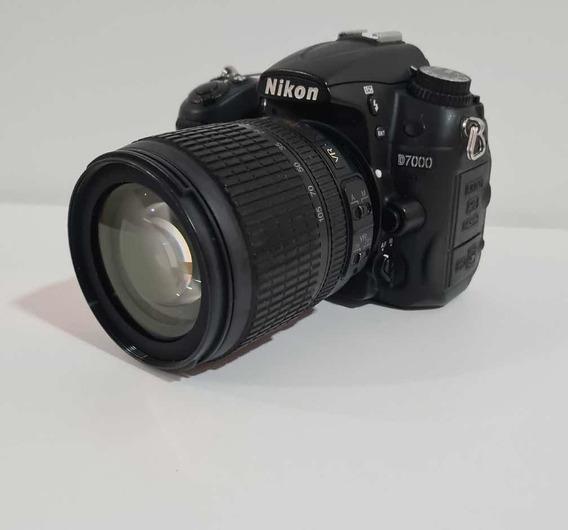 Camera Nikon D7000 + Lente 18-105mm