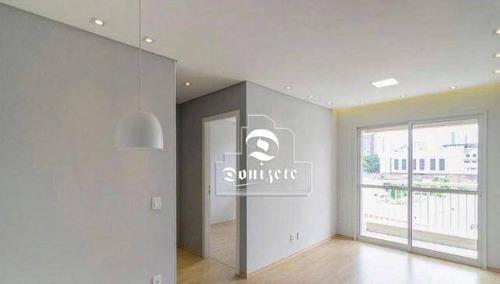 Imagem 1 de 12 de Apartamento Com 2 Dormitórios À Venda, 54 M² Por R$ 370.000,00 - Casa Branca - Santo André/sp - Ap17220
