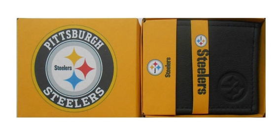 Cartera Piel Pittsburgh Steelers