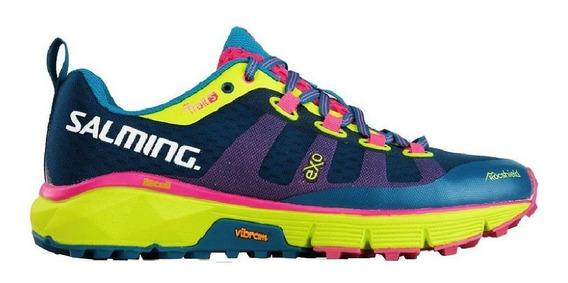 Zapatillas Salming Trial 5 Trekking Running Mujer Importada