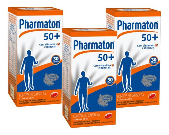 Kit Pharmaton 50+ 30 Cap Leve 3 Pague 1 Sanofi