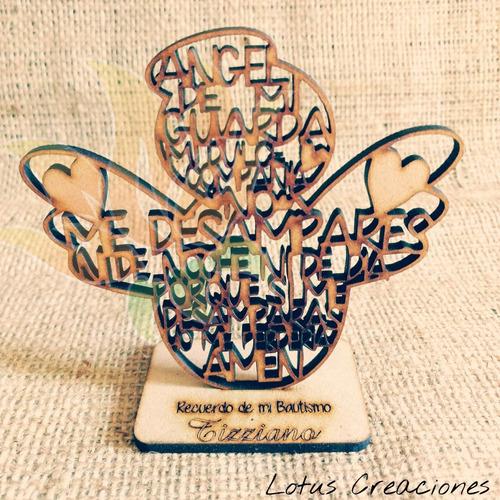 Promo Bautismo-comunion 20 Souvenirs Angel  Guarda + Central