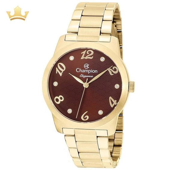 Relógio Champion Feminino Cn26108r Com Nf