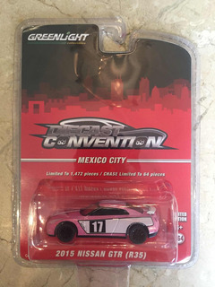 Greenlight Diecast Convention Mexico City Nissan Gt-r 2015