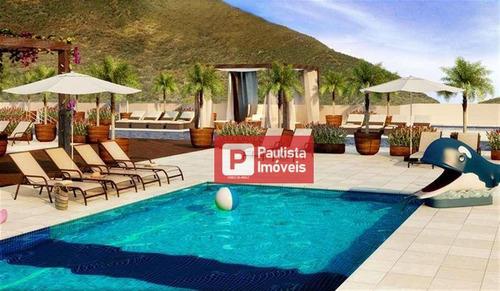 Apartamento Com 2 Dormitórios À Venda, 62 M² Por R$ 420.000,00 - Marapé - Santos/sp - Ap24854
