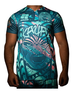 Camiseta Rugby Cays Tela Elastizada Entrenamiento Resistente