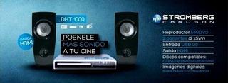Stromberg Carlson Dht1000 Dvd + 2 Bafles Home Theater 2.0