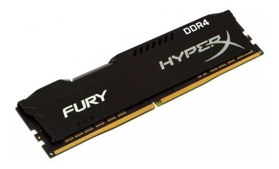Memoria Ram Ddr4 8gb 2666mhz Hyperx Fury Black Hx426c16fb2/8