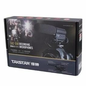 Microfone Takstar Sgc-598 Dslr Canon Nikon Sony Jvc