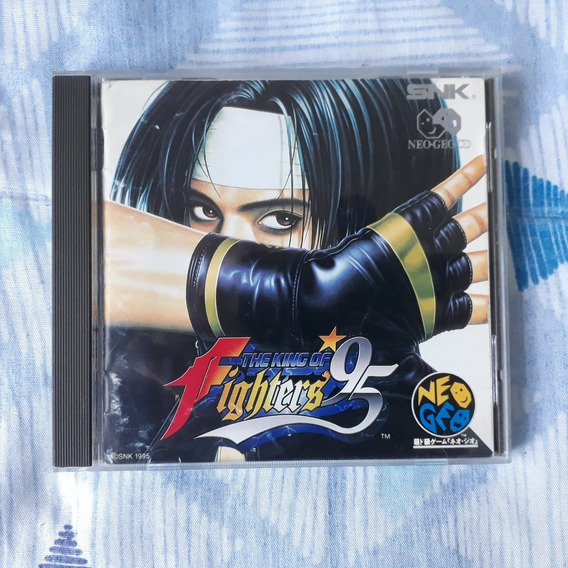 Neogeo Cd The King Of Fighters 95 - Japonês + Manual + Case