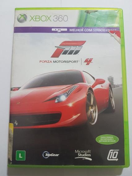 Capa Do Forza Motorsport 4 + Disc 2 Com Defeito Xbox 360