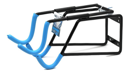 Gancho 2 Bicicletas Horizontal Pared Soporte Cicla Colgar