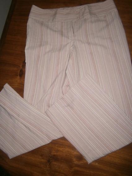 Pantalón De Vestir Beige