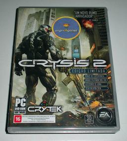 Crysis 2 Ed Ltda ¦ Jogo Pc Original Lacrado ¦ Mídia Física