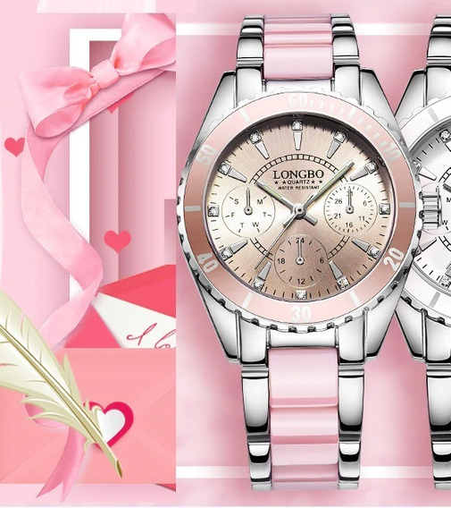 Reloj Brand Pinkchic Fashion Watch Quartz #1 Inoxidable