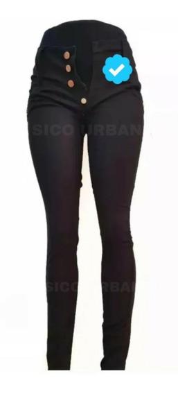 Pack X3 Pantalón Jeans Chupin Elastizados Damas Al 56 Talles