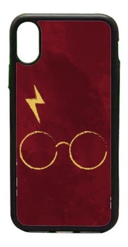 Imagen 1 de 1 de  Funda iPhone 5 6 7 8 Plus X Xr Xs Max 11 Harry Potter Rojo