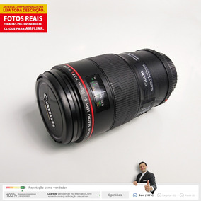 Lente Macro Canon Ef 100mm F/2.8 L Is Usm