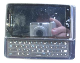 Celular Motorola Milestone 2 A953 Funcionando, Tela E Touch Quebrados!