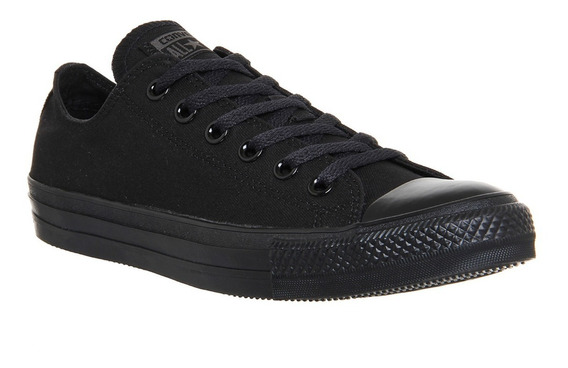 Zapatillas Converse All Star !!! Negro Negro! 100% Original!