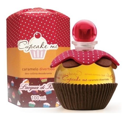 Cupcake Me Caramelo Divertido Deo-colônia 100ml