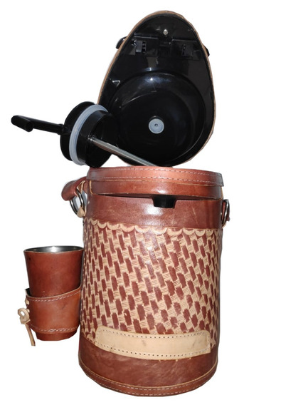 Garrafa Térmica Inox 2,5l-revestida+brinde Bomba Inox