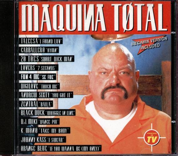 Cd Maquina Total - Vol 1 - Taleesa - K Mono - Lovers