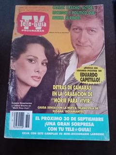 Susana Dosamantes Y Carlos Bracho En Revista Tele-guia