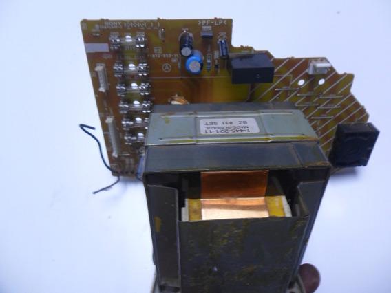 Fonte Trafo Com A Placa Mini System Sony Mhc-gt22