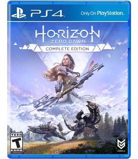 Horizon Zero Dawn Edición Completa Ps4, Disco, Nuevo Sellado