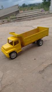 Miniatura De Caminhão Mercedes Em Madeira - Brinquedo Lindo!
