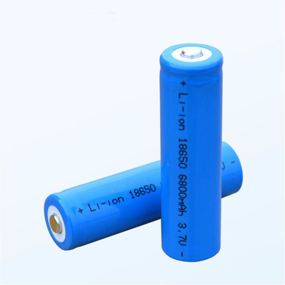Bateria 18650 3,7v Li-on Recarregavel