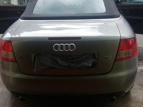Audi A4 Cabriole V6 3.0 2003 30 Válvula