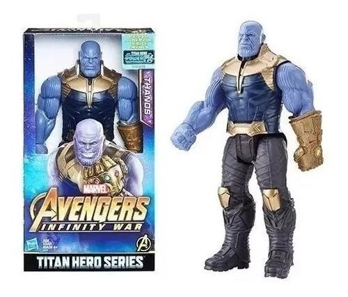 Vingadores 3 Thanos Gr Articulado 30cm P/entrega( Ver Vídeo)