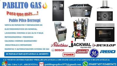 Servicio Técnico Pablito Gas