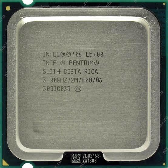 Intel Pentium E5700 - 3 Ghz - Lga 775