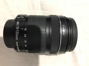 Câmera Canon T6i Eos Rebel Dslr Lente 18-135mm Stm 24.2mp