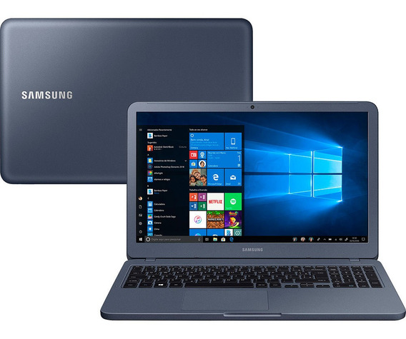 Notebook Samsung Essentials E20 Intel Celeron 4gb 500gb Hd