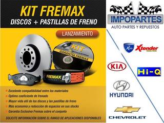 Discos De Frenos Fremax Multimarca Homologados