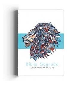Bíblia Sagrada Grande Rc - Azul Leão