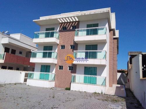 Lindo Apartamento Com 2 Dormitórios À Venda, 88 M² Por R$ 190.000 - Jardim Mariléa - Rio Das Ostras/rj - Ap0404