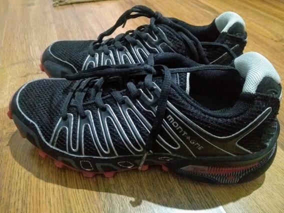 Zapatillas Mujer Montagne T37. Sin Uso. Treking/running