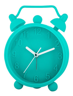 Reloj Despertador De Silicona Hello Aqua Timco