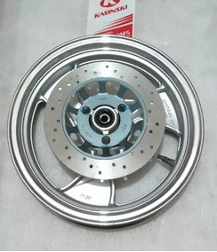 Roda Dianteira Com Disco Completa Kasinski Prima 150 Nova