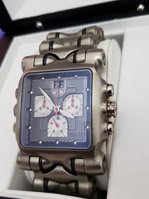 Relógio Original Oakley Time Tank Titanium Completo Caixa