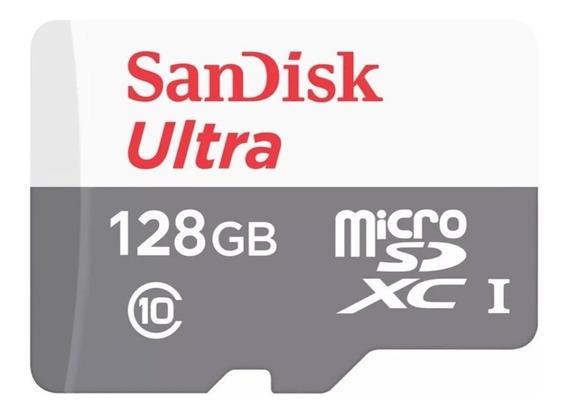 Cartão De Memória Micro Sd 128gb Sandisk