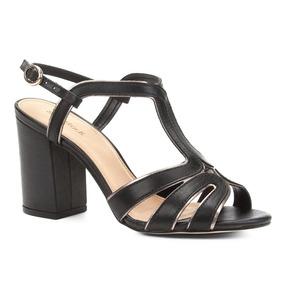 85f51d5d22 Sandália 37 Shoestock (0153) Feminino - Sandálias para Feminino ...