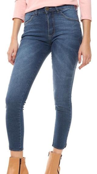 Jeans Mujer Azul Chupin Sassa - Prussia