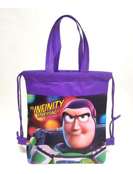 Bolsas Dulceros Toy Story Buzz Fiestas 30 Pzas Bolos Aguinal